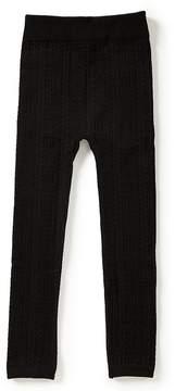 Copper Key Girls Cable-Knit Leggings