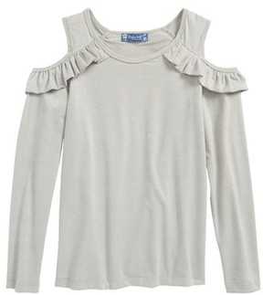Truly Me Girl's Cold Shoulder Top
