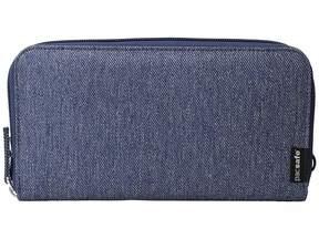 Pacsafe RFIDsafe LX250 RFID Blocking Zippered Travel Wallet