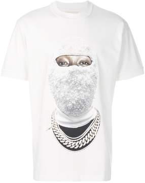 Ih Nom Uh Nit face gold T-shirt