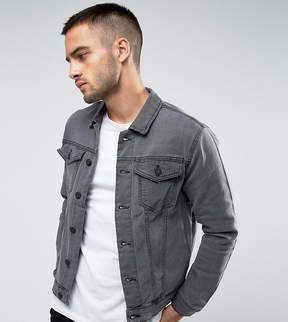 ONLY & SONS Denim Jacket in Washed Gray