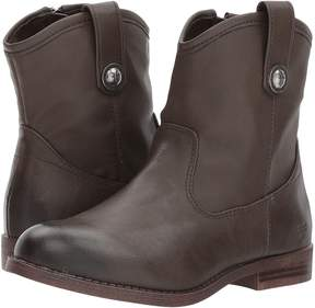 Frye Melissa Button Short Girl's Shoes