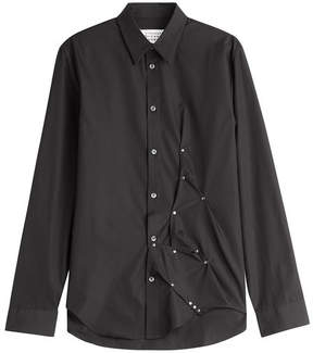 Maison Margiela Embellished Cotton Shirt