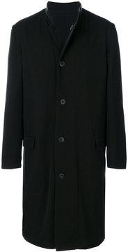 Lemaire reversible button up coat