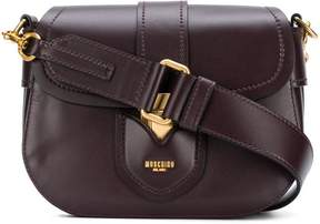 Moschino foldover cross body bag