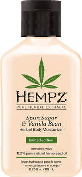 Hempz Travel Size Spun Sugar & Vanilla Bean Herbal Body Moisturizer