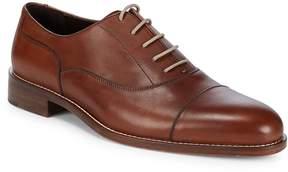 Bruno Magli Men's Cap Toe Leather Dress Shoes