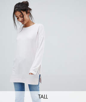 Noisy May Tall Longline Zipped Sweater