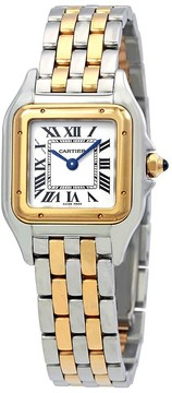 Cartier Panthere de Ladies Stainless Steel and 18K Yellow Gold Watch