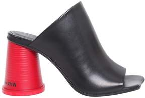 MM6 MAISON MARGIELA Mules With Plastic Cup Shaped Heel