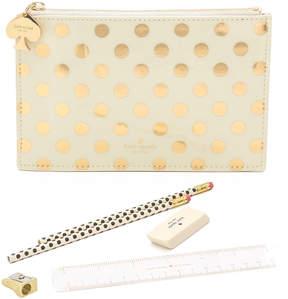 Kate Spade Gold Dots Pencil Pouch