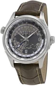 Hamilton Jazzmaster GMT Leather Men's Watch