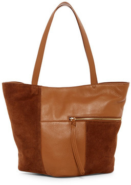 Kooba Prescott Leather & Suede Tote
