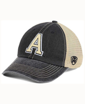 Top of the World Army Black Knights Wicker Mesh Cap