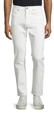 Buffalo David Bitton Skinny-Fit Cotton Pants