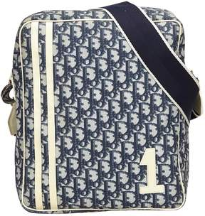 Christian Dior Vintage Ecru Cotton Handbag