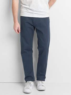 Gap Twill athletic fit pants (stretch)