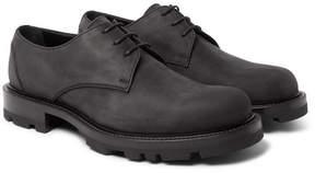 Jil Sander Nubuck Derby Shoes