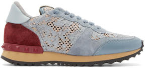Valentino Multicolor Garavani Lace Low-Top Sneakers