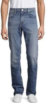 Hudson Lightly Distressed Straight Leg Jeans