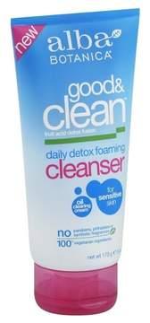 Alba Good & Clean Daily Detox Foaming Cleanser- 6oz