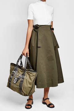 Marc Jacobs Printed Tote with Cotton - GREEN - STYLE
