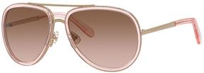 Safilo USA Kate Spade Makenzie Aviator Sunglasses