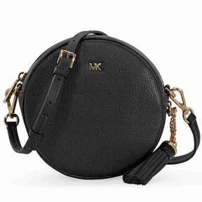 Michael Kors Mercer Medium Canteen Crossbody Bag- Black - ONE COLOR - STYLE
