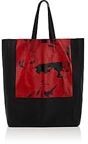 Calvin Klein Women's Dennis Hopper Leather Tote Bag
