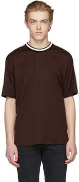 Dolce & Gabbana Burgundy Logo T-Shirt