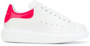 Alexander McQueen contrasting heel counter sneakers