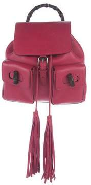 Gucci Bamboo Daily Backpack - PINK - STYLE