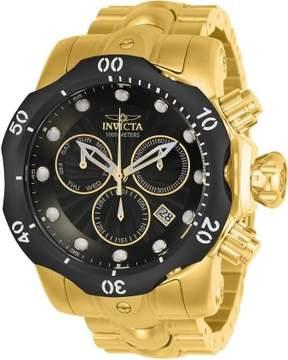 Invicta Venom Chronograph Black Dial Men's Watch