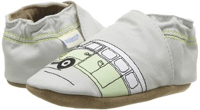 Robeez Beep Beep Soft Sole Boy's Shoes