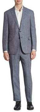 Ralph Lauren Textured Wool Blend Suit