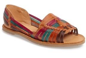 Sbicca Women's Jared Peep Toe Flat