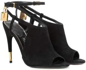 Tom Ford Peep-toe suede sandals