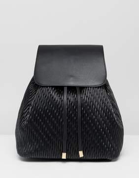 Asos DESIGN duffle backpack in quilt
