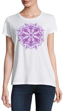 Columbia Co. Short Sleeve Crew Neck Graphic T-Shirt