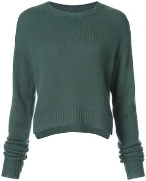 RtA Green August Cashmere Sweater