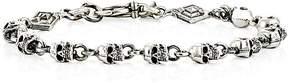 Emanuele Bicocchi Men's Skull-Link Bracelet