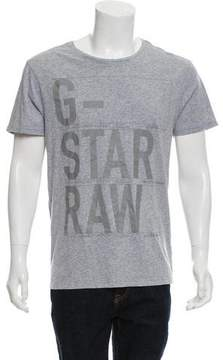 G Star Graphic Crew Neck T-Shirt w/ Tags