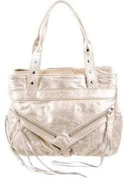 Botkier Metallic Leather Bag