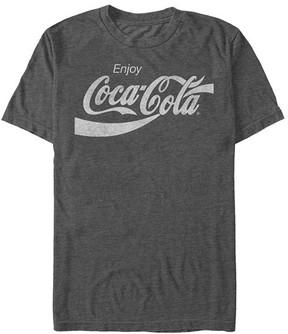 Fifth Sun Charcoal Heather 'Enjoy Coca-Cola' Logo Tee - Men