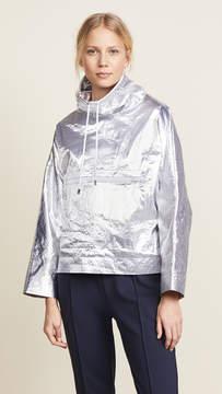 Courreges Snapped Sleeves Rain Jacket