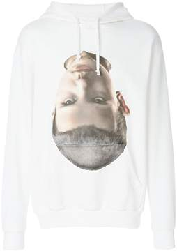 Ih Nom Uh Nit head print hoodie