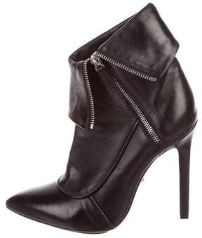 Trina Turk Leather Ankle Boots
