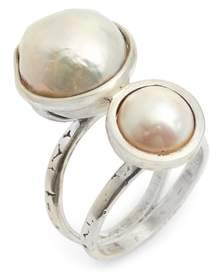Chan Luu Double Pearl Ring