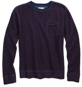 Tucker + Tate Boy's Stripe Crewneck Sweatshirt