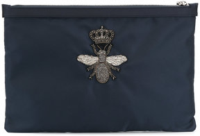 Dolce & Gabbana crowned bee clutch